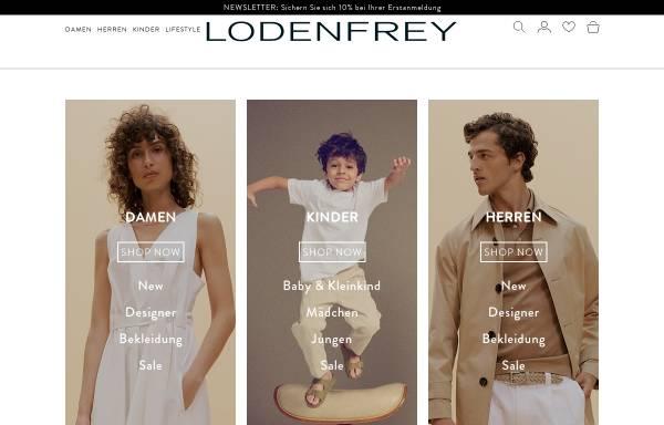 Vorschau von www.lodenfrey.com, LODEN-FREY Verkaufshaus GmbH & Co. KG