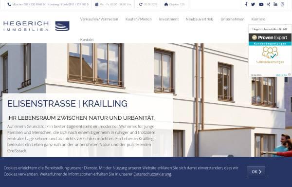 Vorschau von www.hegerich-immobilien.de, Hegerich Immobilien GmbH