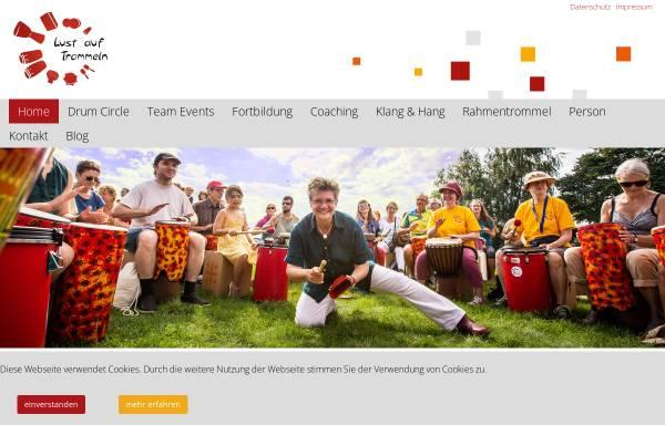 Vorschau von www.lust-auf-trommeln.de, Lust auf Trommeln