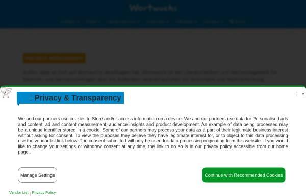 Vorschau von wortwuchs.net, Wortwuchs