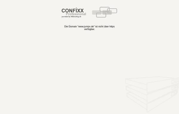Vorschau von www.jumpx.de, JumpX