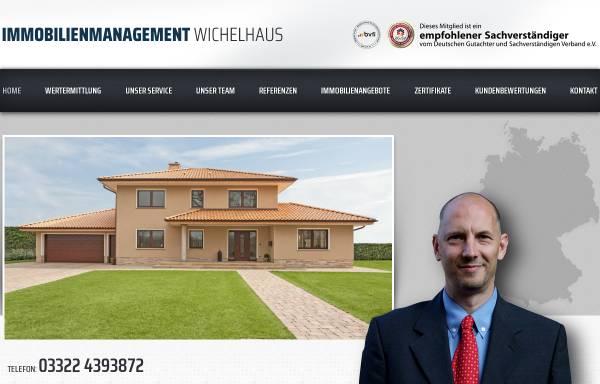 Vorschau von www.immobilien-falkensee.biz, Immobilienmanagement Wichelhaus