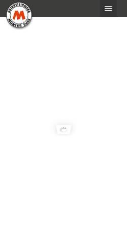 Vorschau der mobilen Webseite www.monser.de, Natursteinwerk Monser GmbH