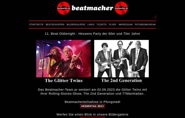 Vorschau von www.DIE-BEATMACHER.de, DIE BEATMACHER - Bundesweiter DJ Service