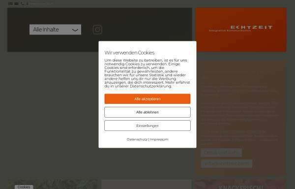 Vorschau von www.echtzeit.de, Echtzeit GmbH & Co. KG - Werbeagentur für integrative Kommunikation