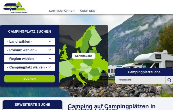 Vorschau von www.campinggate.de, campinggate