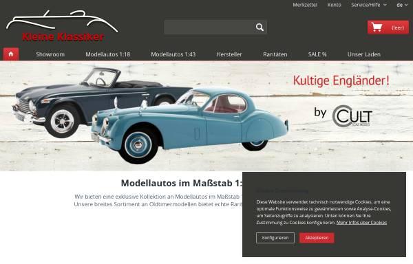 Vorschau von www.kleine-klassiker.de, Kleine Klassiker