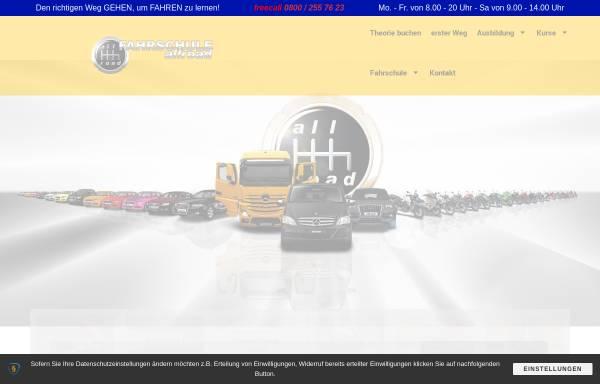 Vorschau von www.fahrschule-allroad.de, Fahrschule allroad