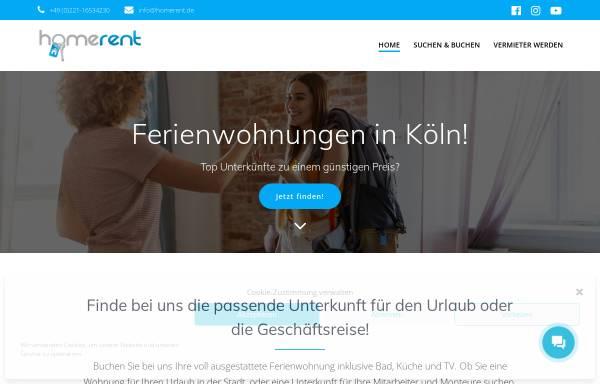 Vorschau von www.fewos-koeln.de, Fewos Köln