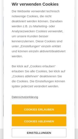 Vorschau der mobilen Webseite www.monamikids.de, Monamikids