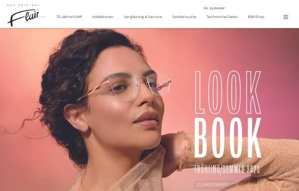 Vorschau von www.flair.de, FLAIR Modellbrillen Dr. Eugen Beck GmbH & Co. KG