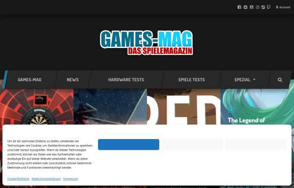 Vorschau von games-mag.de, Games-Mag