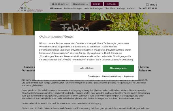 Vorschau von www.bergkoenig.de, Bergkönig Ferienwohnungen