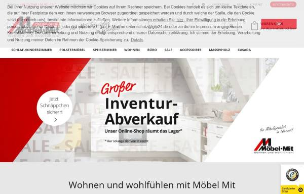 Vorschau von www.web-moebel.de, Web Moebel GmbH