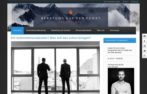 Vorschau von lambertschuster.de, S&P Unternehmensberatung, Lambert Schuster