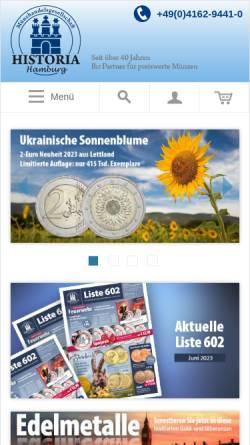 Münzenversand Historia Hamburg Münzen Zahlungsmittel Und