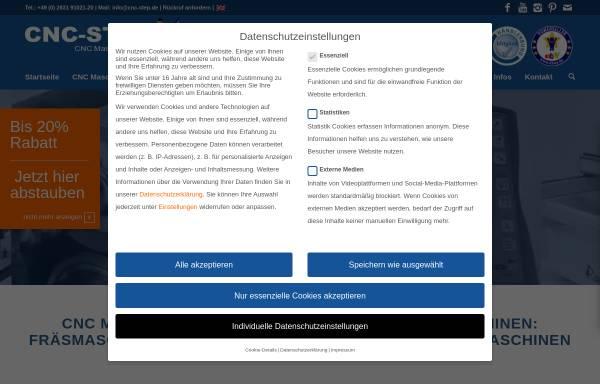 Vorschau von www.cnc-step.de, CNC-STEP, Frank Hylewicz