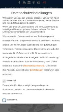 Vorschau der mobilen Webseite www.cnc-step.de, CNC-STEP, Frank Hylewicz