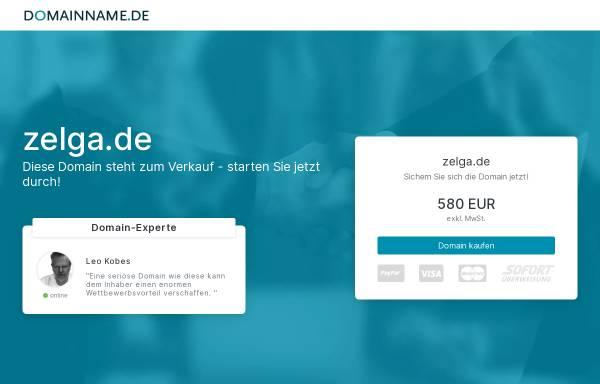 Vorschau von www.zelga.de, ZELGA GmbH