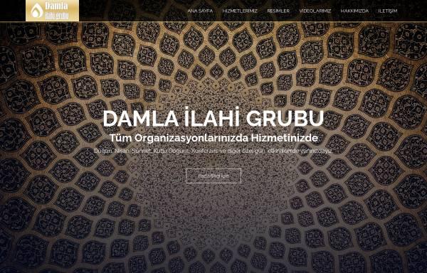 Vorschau von www.ilahigrubu.net, Ilahi Grubu DAMLA - İslami Düğün Hizmeti