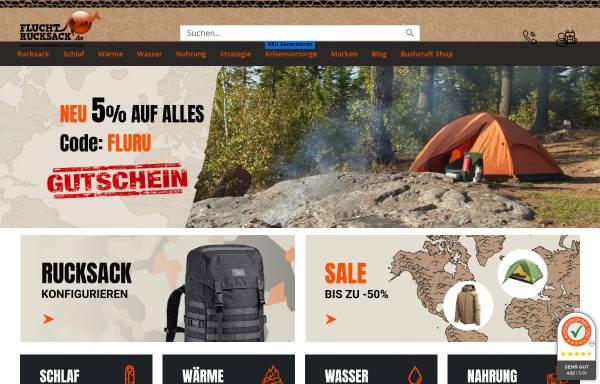 Vorschau von www.fluchtrucksack.de, fluchtrucksack.de, Schirmer Zitzl GbR