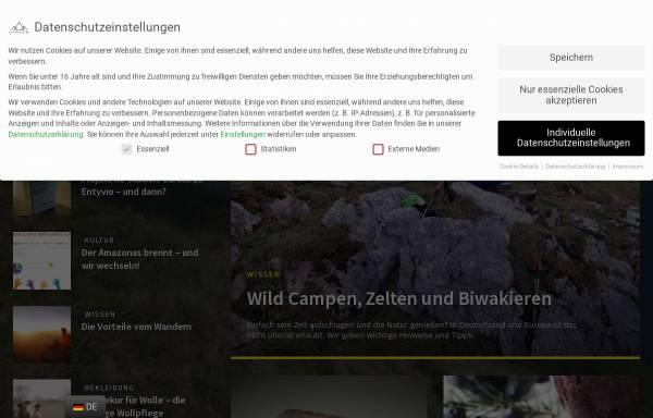 Vorschau von www.aufundab.eu, aufundab