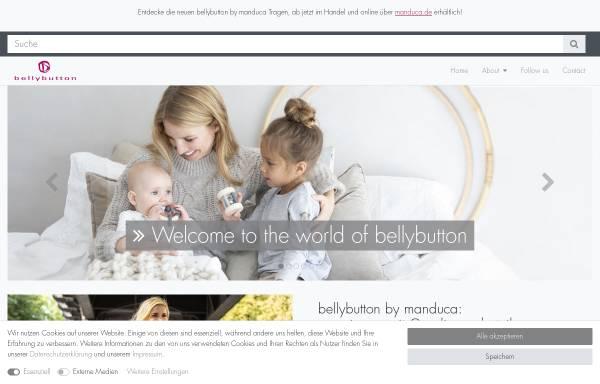 Vorschau von www.bellybutton.de, bellybutton International GmbH