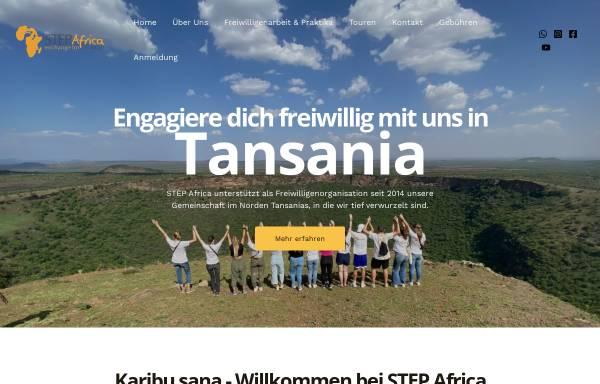 Vorschau von www.step-africa.de, STEP Africa - Freiwilligenarbeit und Praktika in Tansania