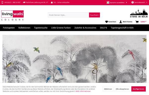 Vorschau von www.livingwalls-cologne.de, Livingwalls Cologne