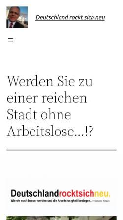 Vorschau der mobilen Webseite www.deutschland-rockt-sich-neu.de, Deutschland rockt sich neu