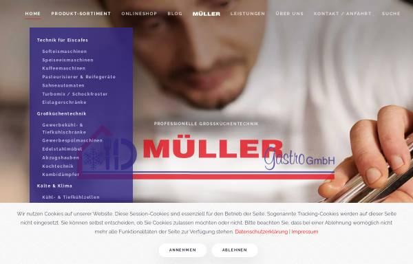 Vorschau von www.gastro-mueller.de, Müller Gastro GmbH