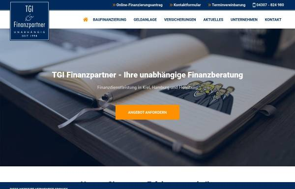 Vorschau von www.tgi-partner.de, TGI Finanzpartner GmbH & Co. KG