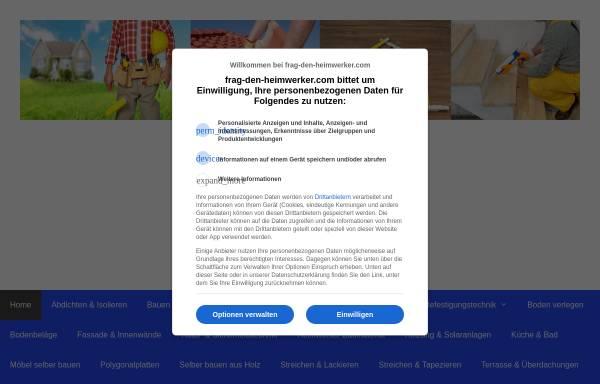 Vorschau von www.frag-den-heimwerker.com, Frag den Heimwerker