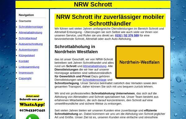 Vorschau von nrw-schrott.de, NRW-Schrott, Darek Libo