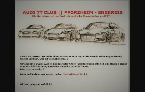 Vorschau von www.audi-tt.club, Club aller Freunde des Audi TT