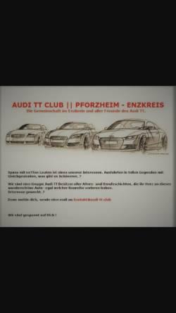 Vorschau der mobilen Webseite www.audi-tt.club, Club aller Freunde des Audi TT