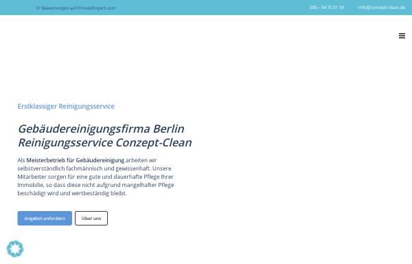 Vorschau von www.conzept-clean.de, Conzept Clean, Jens Geisler