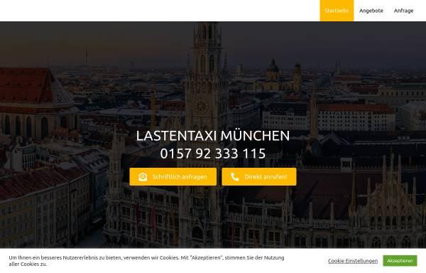 Vorschau von www.lastentaximuenchen.de, Lastentaxi München