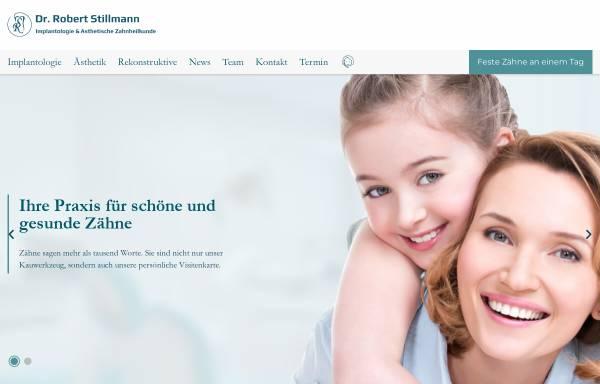 Vorschau von www.stillmann.at, Zahnarzt Dr. Stillmann - Implantologie im 1. und 19. Bezirk