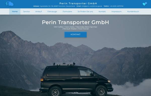 Vorschau von www.perin-nutzfahrzeuge.de, Perin Nutzfahrzeuge - Inh. Francesco Perin