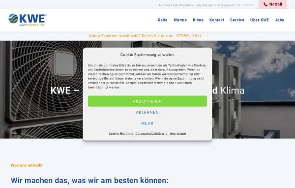 Vorschau von www.kaelte-technik-kwe.de, Kälte-Technik KWE