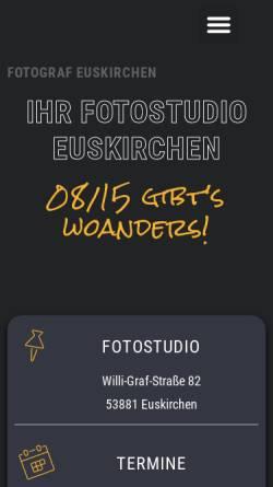 Vorschau der mobilen Webseite dietergreven.de, Dieter Greven Fotografie