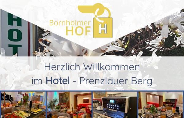 Vorschau von www.bornholmer-hof.de, Hotel-Pension Bornholmer Hof
