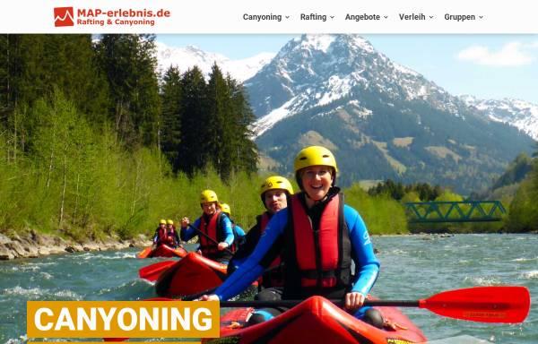 Vorschau von www.map-erlebnis.de, MAP-Erlebnis, Drexler Hierholzer Outdoor GbR