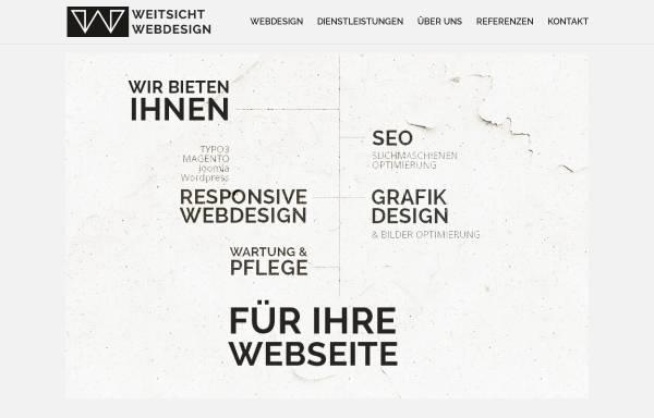Vorschau von www.weitsicht-webdesign.de, Webdesign mit Weitsicht