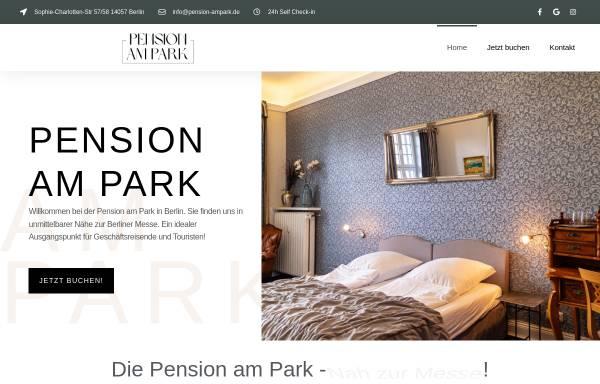 Vorschau von www.pension-ampark.de, Pension Am Park
