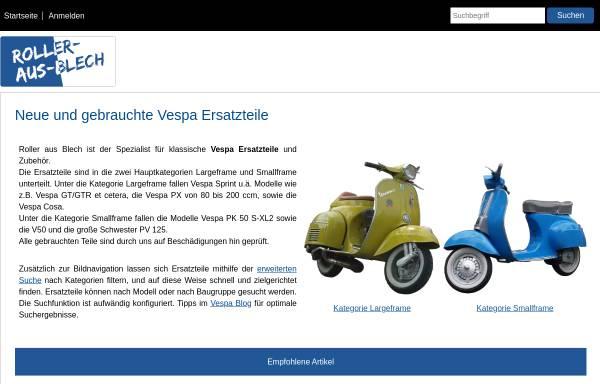 Vorschau von www.roller-aus-blech.de, Roller aus Blech, Christoph Gniadek