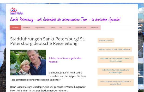 Vorschau von www.reisetreff-petersburg.com, Reisetreff Petersburg - Individuelle Stadtführungen in Sankt Petersburg