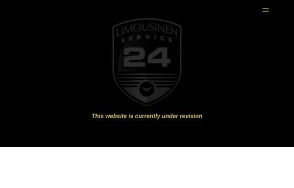 Vorschau von www.limousinenservice24.de, Limousinenservice 24 GmbH