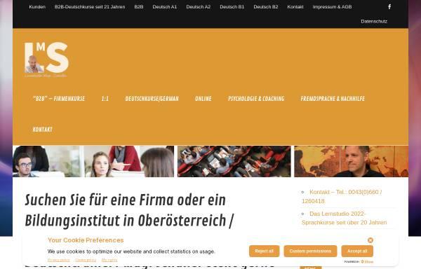 Vorschau von www.lernstudio-schaller.eu, Lernstudio Mag. Schaller